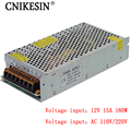 CNIKESIN 12V15A switching power supply 12V monitoring camera centralized power supply LED light strip