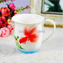 Hot sale!Chinese tea ceramics Jingdezhen porcelain tea cup high design best quality Coffee & Tea Sets Handpainted free shipping!
