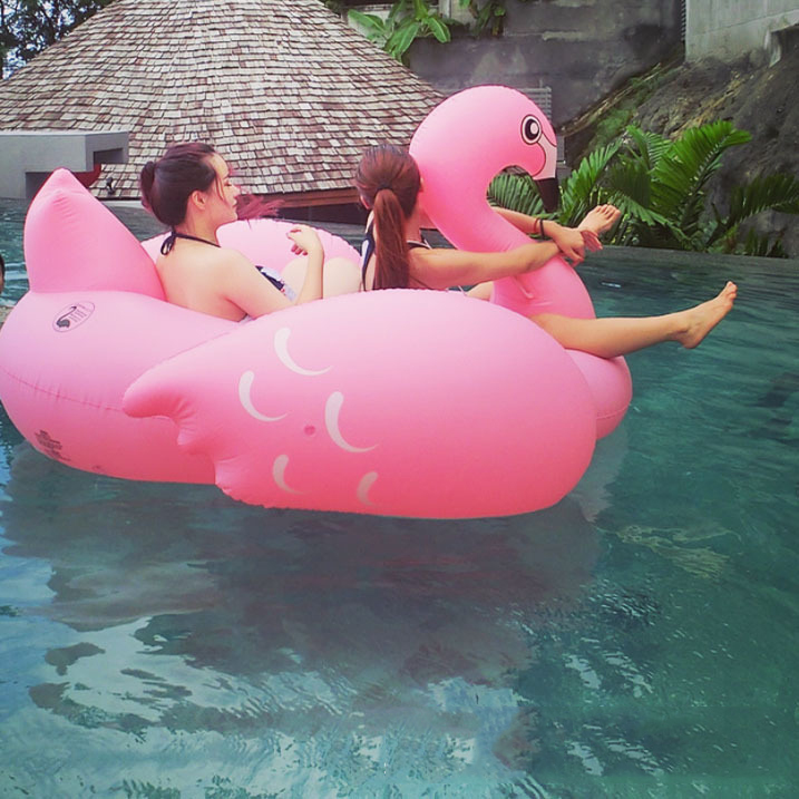 Online buy wholesale pool floats pool floats rafts from for Best rated inflatable swimming pool
