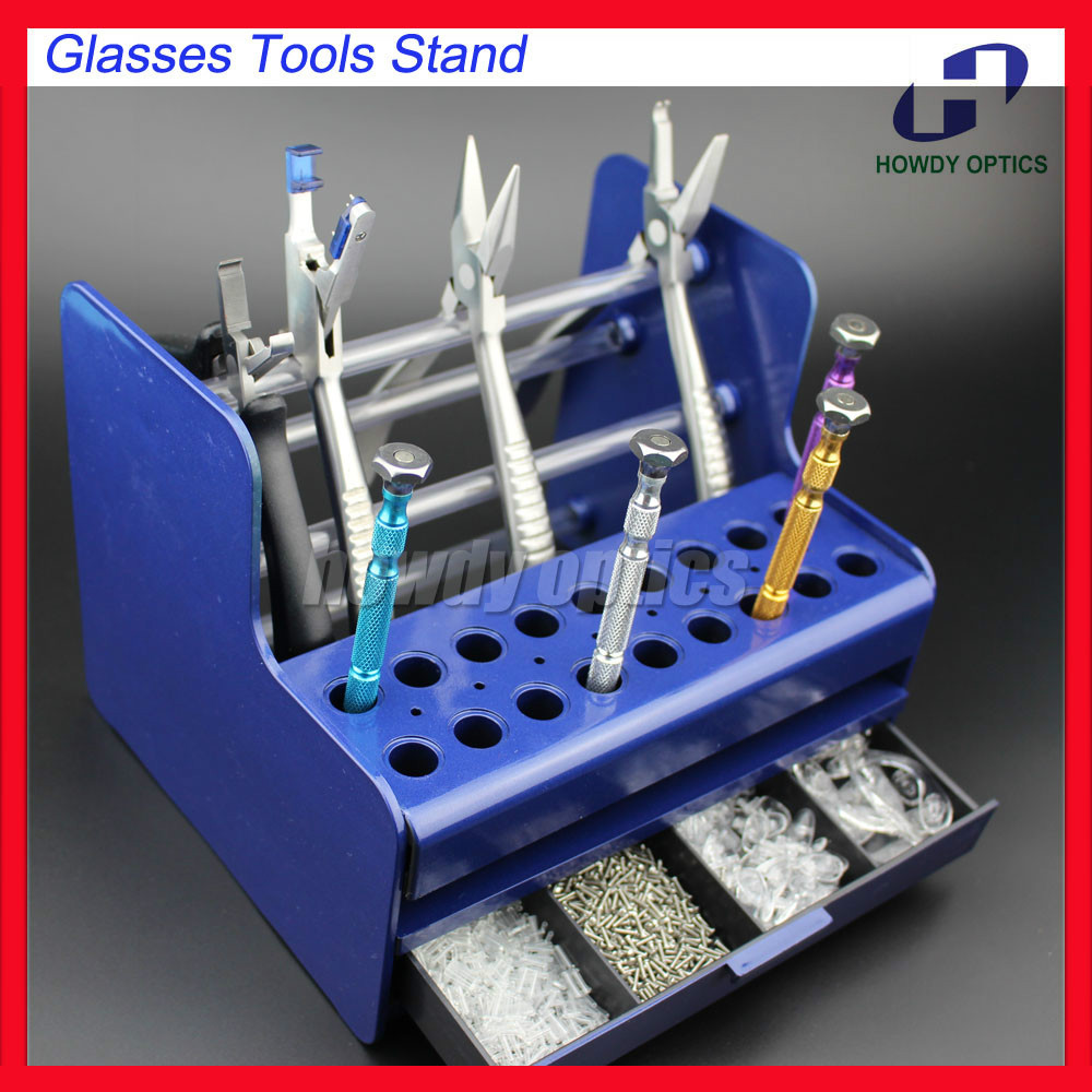 buy ts4001 plastic glasses tools stand screwdriver pliers stand rack holder. Black Bedroom Furniture Sets. Home Design Ideas