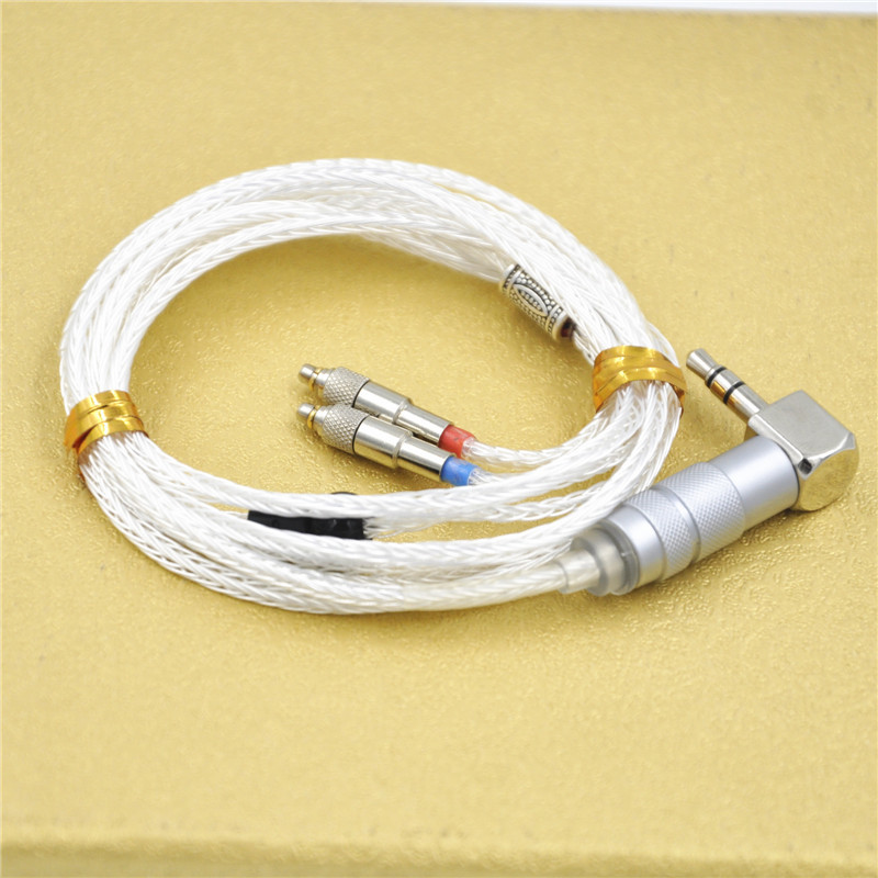 Custom Made Connectors : Easy custom made silver plated cable core detach