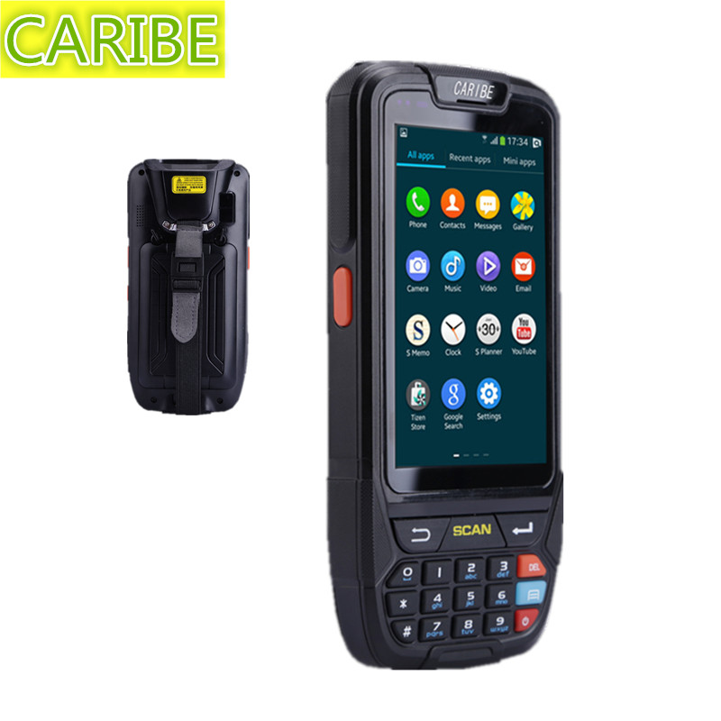 CARIBE PL-40L 2d barcode scanner for Newest Wireless data collector terminal handheld barcode reader laser scanner PDA(China (Mainland))