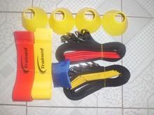 10players  football rugby flag belt  speed game skill endurance team training full set 45pcs(China (Mainland))