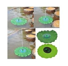 Portable Solar Power Decorative Fountain Pond Pool Brushless Water Pump 7V 1.4W(China (Mainland))