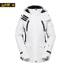 WHS New Couple Skiing Jacket Winter Outdoor Snow Cotton Sportwear  women & men Warm Coat  Waterproof and Windproof Jacket(China (Mainland))