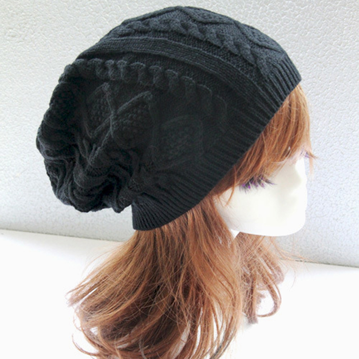 Inverno 2015 Chapeu Twist Pattern Women Winter Hat Plaid Warp Knitting Sweater Fashion Hats For Women New Design Caps(China (Mainland))