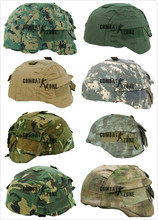 Outdoor Hunting Combat Paitball Games Helmet Accessory Airsoft Tactical Helmet Cover for MICH 2000 Ver2 Woodland ACU 15Color(China (Mainland))