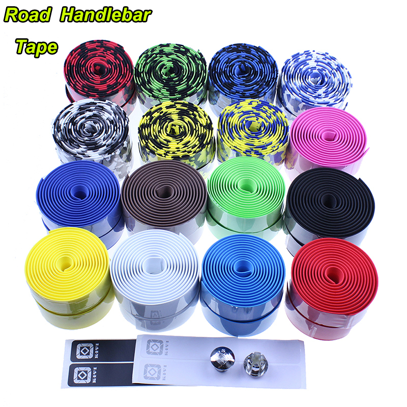 New 2015 Racing ROAD bike Cycling Handle Belt Bicycle EVA Handlebar Tape Color and Camouflage 16