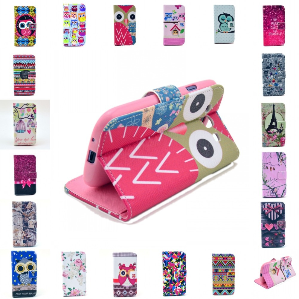 2015 PU Letter Be Happy Live Life Magnetic Flip Wallet Stand PU Leather Case TPU Cover For Samsung Galaxy S3 i9300(China (Mainland))