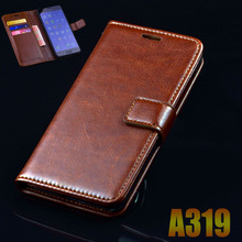 Buy lenovo A319 319 case cover luxury leather flip Phone Bags lenovo A319 ultra thin Business wallet Phone Bags Case cover for $4.19 in AliExpress store