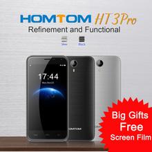 "2016 Original HOMTOM HT3/HT3 Pro 4G Android5.1 MTK6735P Quad Core Smartphone 2GB+16GB 5MP 13MP 3000mAh 5.0"" 720P HD Mobile Phone(China (Mainland))"