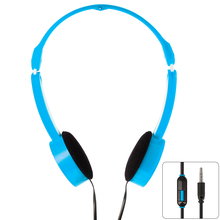 XCSOURCE 3 5mm Universal Foldable Scalable Line Control MP3 Music Headsets Kids Childs Over Ear Headphones