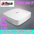 2015 New original Dahua NVR NVR1104 P Network Video Recorder 4 Channel 1080P CCTV NVR 4CH