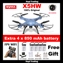 2016 NEW Syma X5HW FPV RC Quadcopter Drone with WIFI Camera 2.4G 6-Axis VS Syma x5sw Upgrade RC Helicopter Toys Pressure High