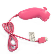 Free Shipping Nunchuk Game Controller for Nintendo Wii / Wii U Pink
