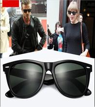 2016Hot Sale Sunglasses Men Glass Gray Dark Green G15 lens Sun Glasses Outdoor Summer Women oculos de sol masculino gafas de sol(China (Mainland))