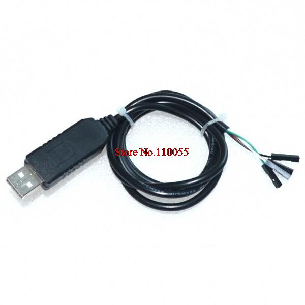1pcs/lot PL2303 PL2303HX USB to UART TTL Cable module 4p 4 pin RS232 Converter in stock(China (Mainland))