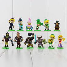 Anime Figure 3.8-5.8CM 12pcs/set Egg Figure The Legend of Zelda Link Mini PVC Action Figures Collection Toys Model
