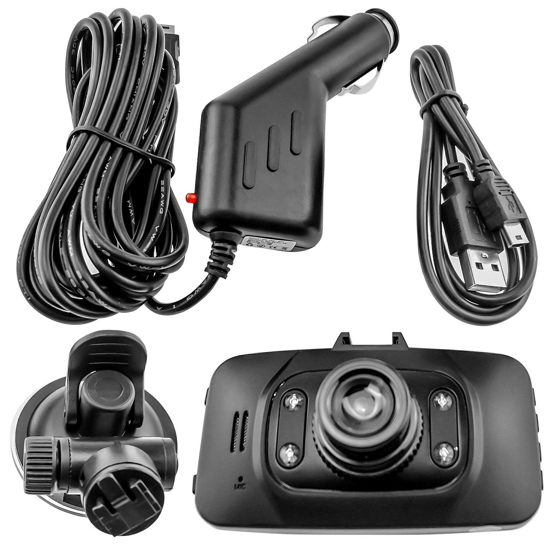 "Full HD 1080P Car Vehicle DashBoard Video Camera DVR 2.7"" Screen Night Vision(China (Mainland))"