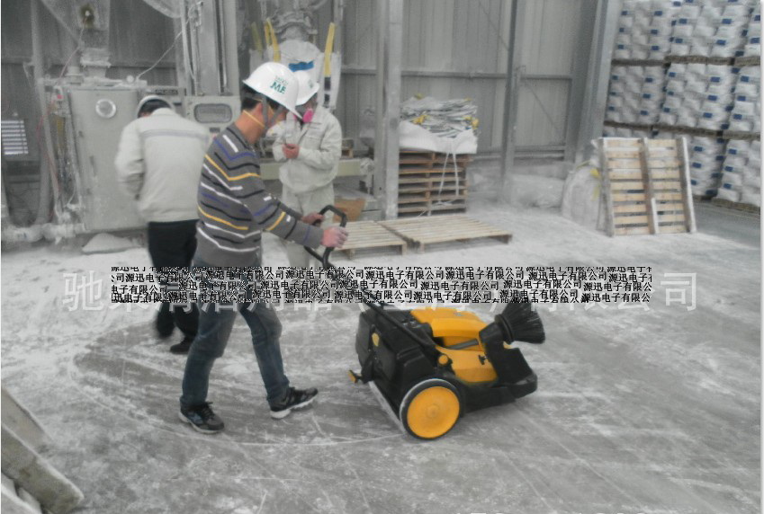 Hand push industrial electric sweeper vacuum sweeping vehicles factory shop floor sweeper factory outlets(China (Mainland))