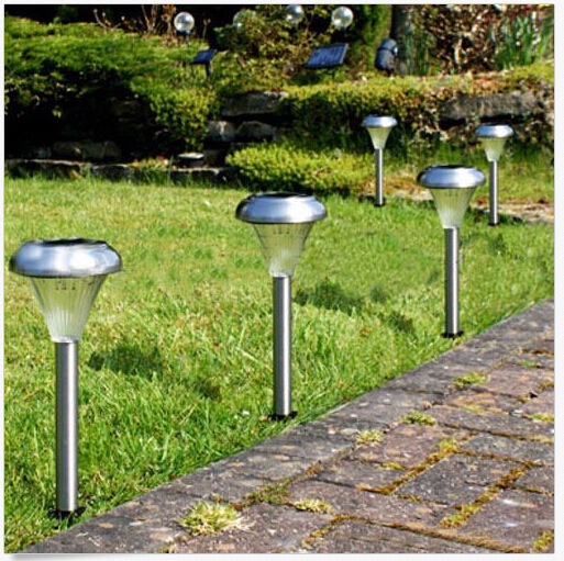 Zonne energie led villa tuin lamp yard gazon licht party path outdoor spotlight fpp in - Outdoor licht tuin ...