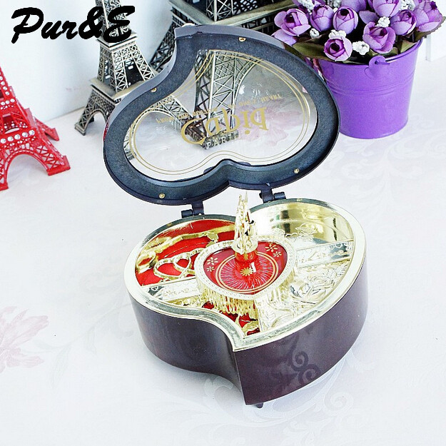 Double seventh festival creative gifts plastic arts and crafts little girl dance music box music box HDC0036(China (Mainland))