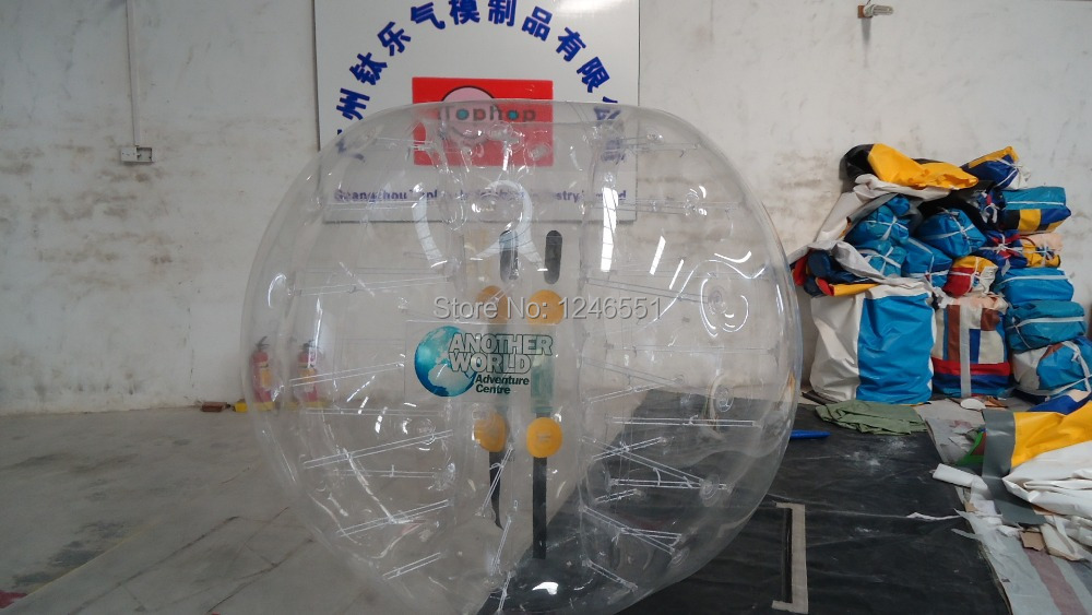 2014 Newest PVC 1.5m soccer bubble ball,bubble bumper,big soccer ball with clear logo printing Drop Shipping(China (Mainland))