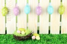 600cm*300cm easter photography backdrops Wooden nest egg backdrop Easter Day ZJ - Marry wang store