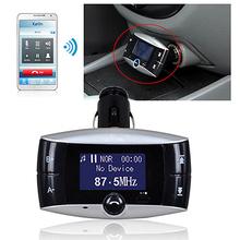 Car Kit FM Audio Transmitter Bluetooth Modulator MP3 Music Player USB Remote(China (Mainland))