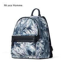 Buy Mr.Ace Homme 2017 fashion mini backpack 3D printed travel backpack nylon waterproof school bags top grade backpack women mochila for $24.02 in AliExpress store