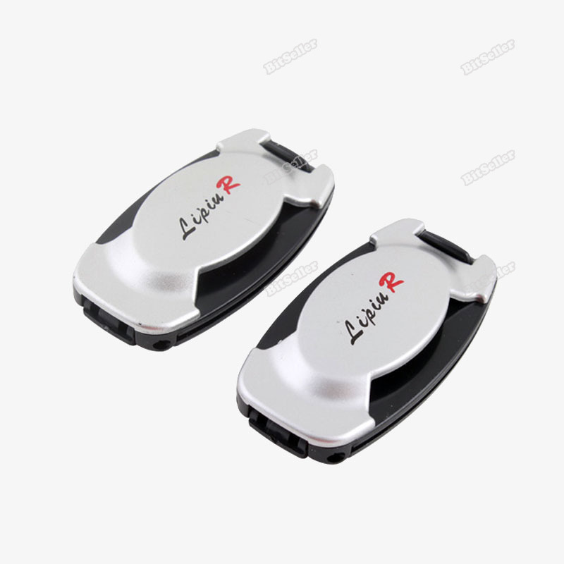 Webmax Hottest! Pair Safety Safe Car Auto Seat Belt Stopper Clip Set #2 best services(China (Mainland))