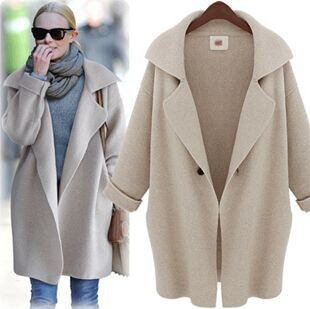 2014 new women long section large size cardigan sweater coat woman autumn Long-sleeved lapel - Online Store 923589 store