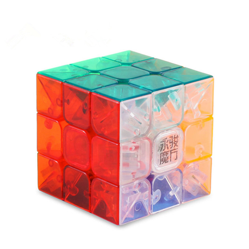 2017 New Yongjun YJ MoYu AoLong 56mm Magic Puzzle Cube Top Speed Crazy Windmill Weilong Puzzle Pyraminx Cubes Educational Toys(China (Mainland))
