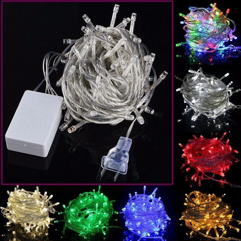 New Arrival 50m Colorful 500LED String Fairy Light Wedding Christmas Xmas Party Store Home Garden Decor Lamp Holiday Light 110V(China (Mainland))