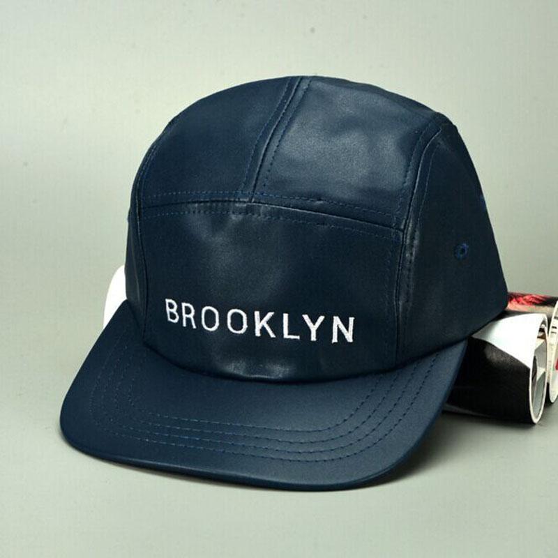2015 new arrival 100% embroidery logo letter BROOKLYN Black Baseball Cap hip hop Snapback Cap Hat chapeu ground bones men women(China (Mainland))