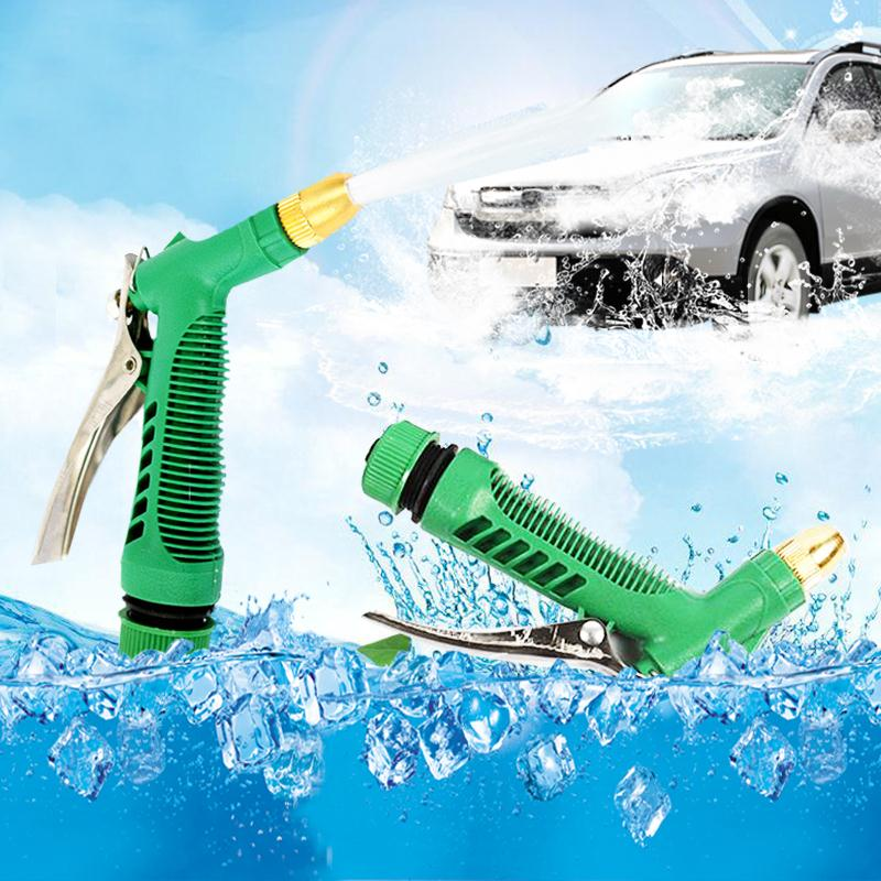 High Pressure Water Gun Car Washing Gun Nozzle Watering Equipment Garden Home Accessories Tools Brass Hose Nozzle(China (Mainland))