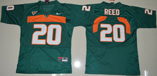 Nike HOT SALE Top quality For youth,#20 Ed Reed #52 Ray Lewis #26 Sean Taylor Free Shipping stitched college fit size Hurricane(China (Mainland))
