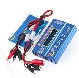 Factory Directly Sale 1 Set iMAX B6 Lipo NiMh Li-ion Ni-Cd RC Battery Balance Digital Charger Discharger Tamiya Plug(China (Mainland))