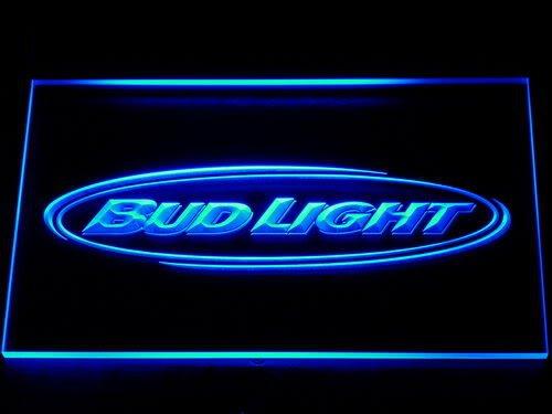 001 Bud Light Beer Bar Pub Club NR LED Neon Light Signs(China (Mainland))