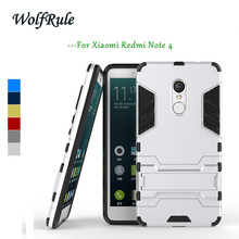 Buy Anti-knock Case Xiaomi Redmi Note 4 Cover Plastic +Soft Silicone Phone Stand Case Xiaomi Redmi Note 4 Case Redmi Note 4 < for $2.98 in AliExpress store
