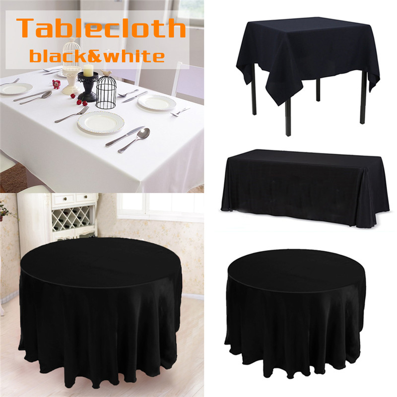 White Rectangle Tablecloth Promotion-Shop For Promotional