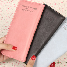 Buy 2016 students woman Grind arenaceous wallet long Han edition ultra-thin Restoring ancient ways change Card package movement fi for $4.08 in AliExpress store