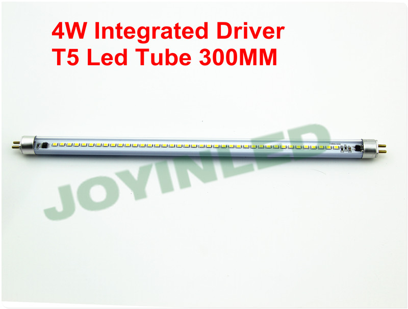 5pcs 4W 300mm Dimmable led T5 tube light super brightness 2835 440lm 0.3m 30cm integrated fluorescent ballast  AC220V<br><br>Aliexpress