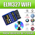 2016 Top Quality New Version Elm327 WIFI Scanner Diagnostic Tool OBD2 Wifi Elm 327 Scanner Wireless