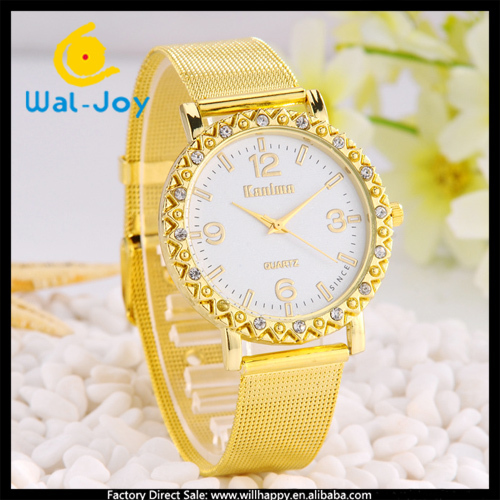 50/lot China supplier high quality pretty net belt vogue charming ladies watch(WJ-2745)(China (Mainland))