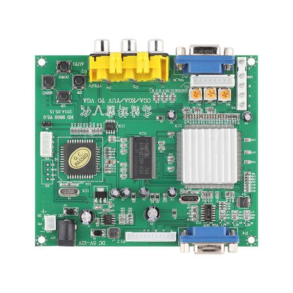 1set NEW Arcade Game RGB/CGA/EGA/YUV to VGA HD Video Converter Board HD9800/GBS8200(China (Mainland))