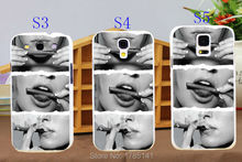 New 1pcs Blunt Rolling Weed Smoke Sexy girls smoking blunts hard white Case for Galaxy Samsung S3 S4 S5 I9300 I9500 I9600(China (Mainland))