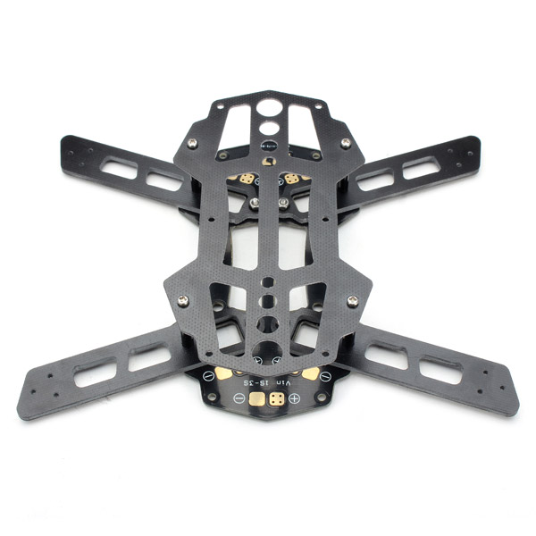 Wholesale rc helicopter parts Diatone Blade 150 Glass Fiber PCB Frame Kit w/ LED Decoration Board(China (Mainland))