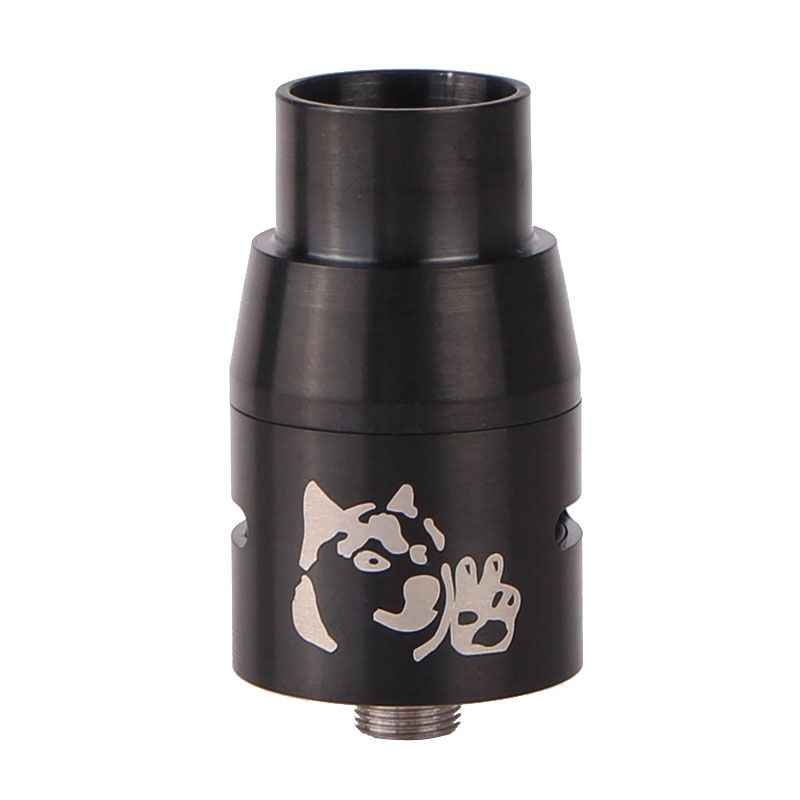 Doge V4 Style RDA Rebuildable Dripping Atomizer - Black<br><br>Aliexpress