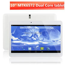 Tablet pc Big discount!10 inch MTK6572 3G Phone Call dual core/camera/SIM card GPS+Flashlight+Bluetooth Android4.4 free shipping(China (Mainland))